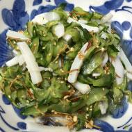 イカと胡瓜の中華酢物乾燥えのきあえ